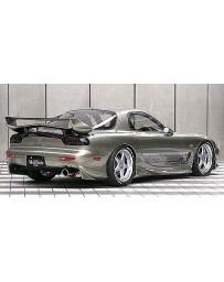 VeilSide 1993-2002 Mazda RX7 FD3S C-I Model Rear Under Spoiler (FRP)