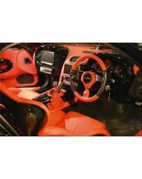 VeilSide 1993-2002 Mazda RX7 FD3S Fortune Model Dash Panel Hood (FRP)