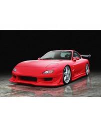 VeilSide 1993-2002 Mazda RX7 FD3S VS D1-GT Model CARBON Hood (CFRP)