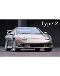 VeilSide 1994-1998 Mitsubishi 3000GT/ Dodge Stealth GTO Z15/16A EC-I Model Front Bumper Spoiler TYPE-II (FRP)