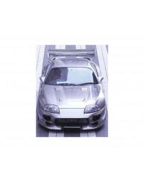 VeilSide 1993-1998 Toyota Supra JZA80 MK4 C-II Model FRP Hood (FRP)