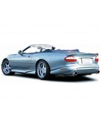 VeilSide 1996-2006 Jaguar XK-8 (X100) EC-I Model Rear Bumper Spoiler (FRP)