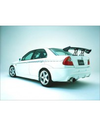 VeilSide 1997-2001 Mitsubishi Lancer EVO IV, V, VI CN9A/ CP9A EC-I Model Rear Bumper Spoiler (FRP)