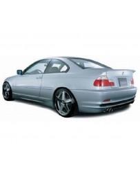 VeilSide 1999-2001 BMW E46 3-Series Coupe Executive Sports Model Rear Half Spoiler (FRP)