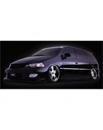VeilSide 1999-2003 Honda Odyssey JDM RA6 Goltier Front Bumper Spoiler Type2 (FRP)