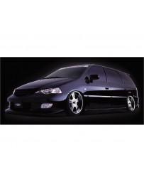 VeilSide 1999-2003 Honda Odyssey JDM RA6 Goltier Side Skirts (FRP)
