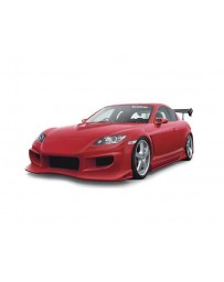 VeilSide 2003-2008 Mazda RX8 SE3P VS D1-GT Model Front Bumper Spoiler (FRP)