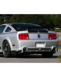 VeilSide 2005-2009 Ford Mustang GT USA Model Funnel Rams (CARBON)