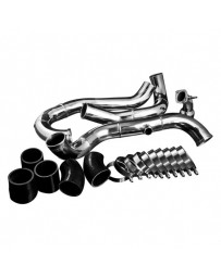 EVO 8 & 9 Weapon-R Polished Intercooler Pipe Kit