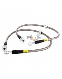 R35 GT-R Stoptech Stainless Steel Brake Lines Front