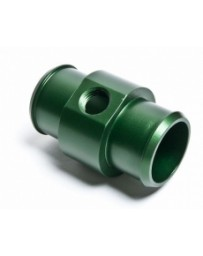 "R35 Radium Engineering Hose Barb Adapter for 1 1/4"" ID Hose with 1/4 NPT Port, Green"