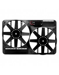 R35 Flex-a-Lite Direct Fit Dual Electric Fan