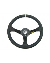 R32 Sparco 325 Competition Black Leather Steering Wheel 350mm