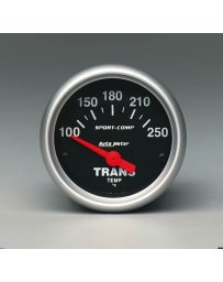 R33 AutoMeter Sport-Comp Transmission Temperature Gauge - 52mm