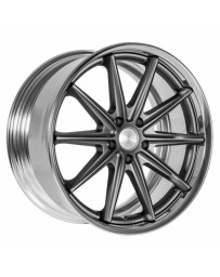VOSSEN x Work VWS-1 - Matte Graphite Center / Polished Lip