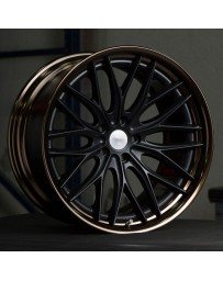 VOSSEN x Work VWS-2 - Matte Black Center / Gloss Bronze Lip