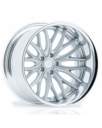 VOSSEN x Work VWS-2 - Matte Silver Center / Polished Lip