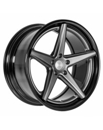 VOSSEN x Work VWS-3 - Matte Graphite Center / Gloss Black Lip