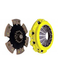 350z DE ACT Clutch Kit, Heavy Duty Pressure Plate with 6-Pad Rigid Race Disc