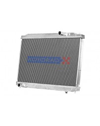 R32 Koyo Aluminum Racing Radiator, Manual Transmission