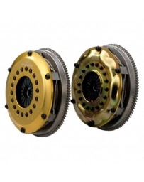 R32 OS Giken Twin Disc Clutch with Dampened Steel Cover