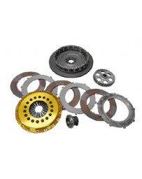 R32 OS Giken R3C 204mm Quad DiscClutch with Steel Cover