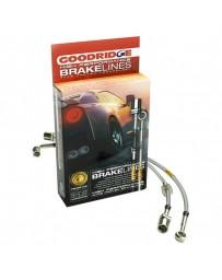 R33 Goodridge G-Stop Stainless Steel Brake Line Kit