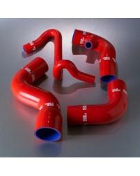 R33 Samco Red Intercooler Hoses Turbo Hose Kit 2 Piece Kit