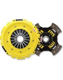 R33 ACT HD Pressure Plate with Race Sprung 4-Pad Clutch Disc