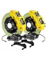 R33 Brembo GT Series Slotted 2-Piece Rotor Front Big Brake Kit