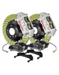 R33 Brembo GT Series Cross Drilled 2-Piece Rotor Rear Big Brake Kit