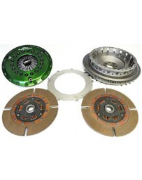 350Z DE OS Giken GTS2CD Grand Touring Dampened Twin Plate Clutch with Soft Diaphragm