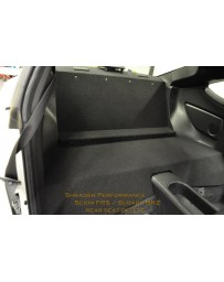 Subaru BRZ Shrader Performance Rear Seat Delete
