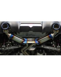 R32 GReddy Super Street Titan Stainless Steel Cat-Back Exhaust System