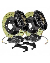 R32 Brembo GT Series Cross Drilled 2-Piece Rotor Front Big Brake Kit