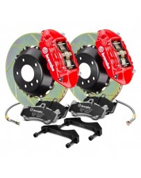 R32 Brembo GT Series Slotted 2-Piece Rotor Rear Big Brake Kit