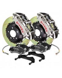R32 Brembo GT-R Series Slotted 2-Piece Rotor Rear Big Brake Kit