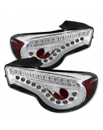 Toyota GT86 Spyder Chrome Light Bar LED Tail Lights