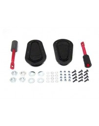 370z Aerocatch Hood Pin Flush Kit