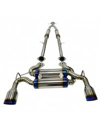 370z Agency Power Titanium Cat-Back Exhaust System