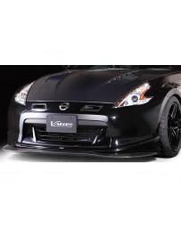 370z Varis Front Lip Spoiler FRP & Carbon