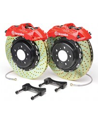 "370z Brembo Front Monotblock 355x32mm 14"" 6-Piston Big Brake Kit - Drilled"