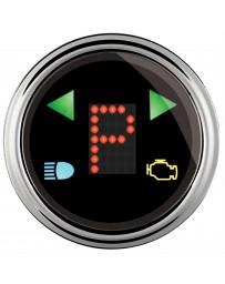 """370z AutoMeter Gear Shift Indicator Gauge Chrome Domed Lens - 2 - 1/16"""""""