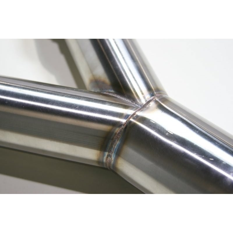 Z aam competition stainless steel y pipe torqen