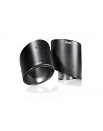 370z Akrapovic Adjustable Tail Pipe Tips, 125mm