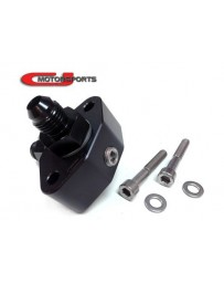 370z CJ Motorsports Fuel Tap 4-Way, 2-Bolt