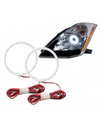 350z DE Oracle Lighting CCFL 6000K White Halo Kit for Headlights