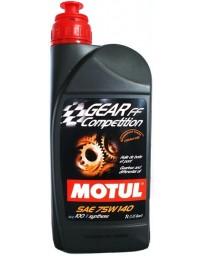 350z Motul GEAR COMPETITION 75W140 Gear Oil GL-5 - 1 Liter