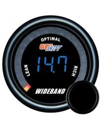 370z GlowShift Tinted 7 Series Digital Wideband Air/Fuel AFR Gauge