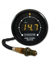 370z Innovate Motorsports 3845 MTX-L Air / Fuel Ratio Gauge Kit with O² Sensor, Powersports - 3ft cable